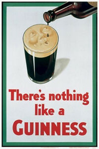 NOTHING LIKE A GUINNESS POSTER (50x40cm)  NEW LICENSED ART