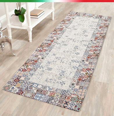 Home & Garden Rugs & Carpets Steady Tappeto Arredo Sala Cucina Bagno Camera Maiolica Moderno Antiscivolo Mod.nice3