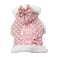 XSM DOG COAT chihuahua teacup maltese yorkie PINK DOG JACKET USA Seller
