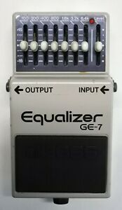 BOSS-GE-7-Equalizer-Guitar-Effects-Pedal-made-in-Japan-1986-220-Free-Shipping