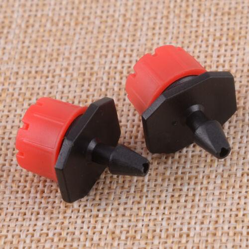 100 Stücke Einstellbare Micro-Drip Tropf Sprinkler Tropfbewässerung Werkzeug