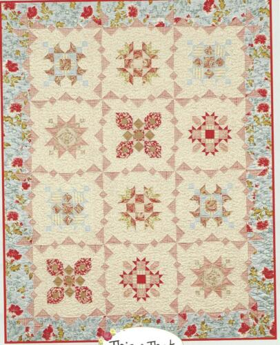 Mid Summers Day quilt pattern by Sherri K. Falls of This & That Patterns