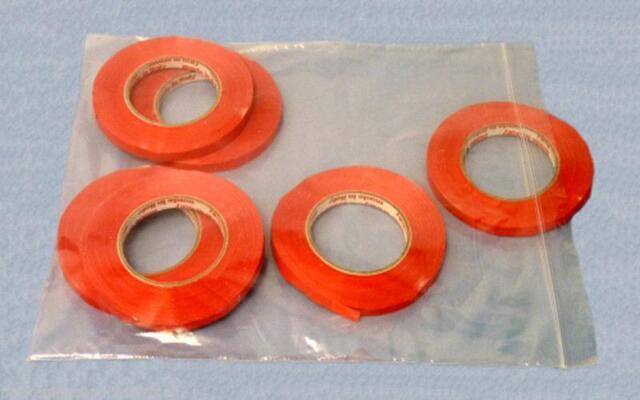 "2400 Ziplock 18""x24"" clear 4 MIL poly bags reclosable zip lock bag"