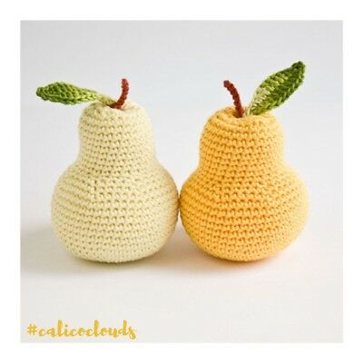 Crochet Pera Dentizione Con Sonaglio-
