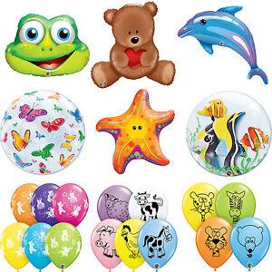 Imprime-Animal-latex-amp-en-forme-de-feuille-Qualatex-Ballons-Anniversaire