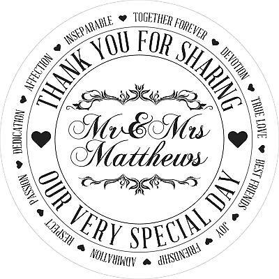 Vintage Matrimonio Colore Bianco Adesivo Con Le Etichette Per Party Borsa Dolce Coni-mostra Il Titolo Originale Qualità E Quantità Assicurate