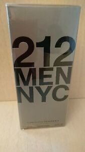 212-NYC-MEN-100-ml-Eau-de-Toilette-Pour-Homme-Spray-Men-CH-Carolina-Herrera-EDT