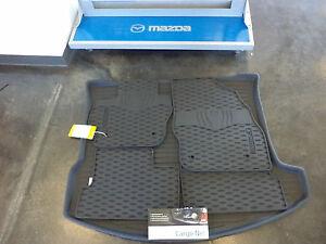 mazda 3 2004 2013 5 door cargo net all weather floor mats cargo tray combo ebay. Black Bedroom Furniture Sets. Home Design Ideas