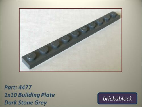NEW Lego Part 4477 1x10 Plate Choose 2,5,8,10,12 or 15 ALL COLOURS SAME PRICE