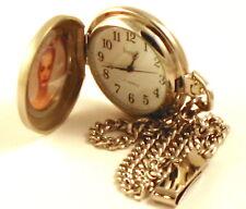 Photo Insert Holder Wind up Pocket Watch
