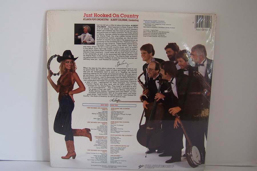 Atlanta Pops Orchestra - Just Hooked On Country Vinyl L