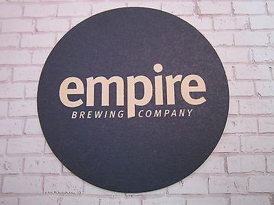 Bier & Bierdeckel Bier Sammlerstück Untersetzer ~^~ Empire Gär Co ~^~ Syracuse,new York Breweriana Halten Sie Die Ganze Zeit Fit Sammeln & Seltenes