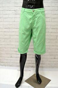 Bermuda-Uomo-CARLO-CHIONNA-9-2-Taglia-56-Pantaloncino-Shorts-Jeans-Man-Cotone