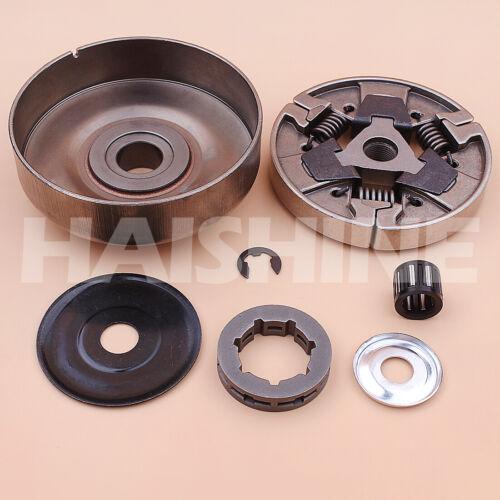 "3//8/""-7 Clutch Drum Rim Sprocket Kit For Stihl MS660 066 064 MS640 MS661 Chainsaw"