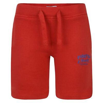 Kids Firetrap Print Jumper Shorts Boys Girls Top Bottoms Outfit Set 2-13 Years