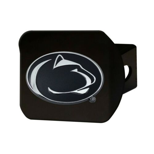 2-4 Days Fanmats Penn State Nittany Lions Chrome 3D Black Metal Hitch Cover Del