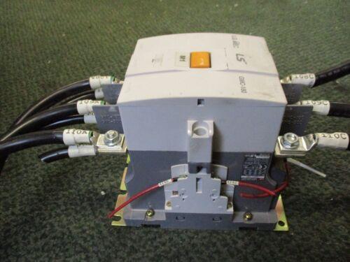 LS Contactor GMC-180 180A 220//440V Coil 100-240VAC//100-220VDC Used