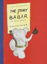 Babar: The Story of Babar by Jean de Brunhoff (1937, Hardcover)