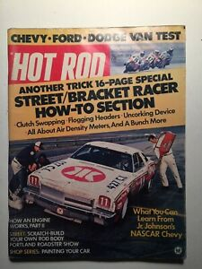 Vintage-Hot-Rod-Magazines-3-Mags-June-Sept-Dec-1973-Good-Condition-USED