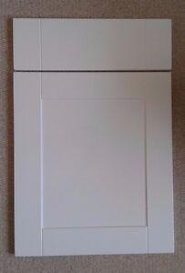 Image Is Loading Fp Amp P Matt White Shaker Kitchen Cabinet
