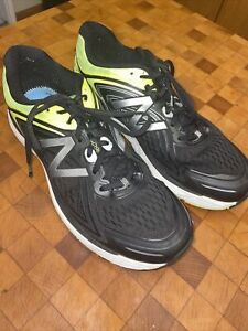 Men-039-s-New-Balance-860v8-Running-Shoes-Sneakers-Size-12-Black-Yellow-Athletic