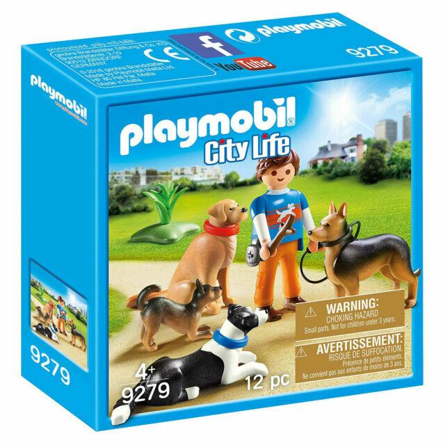 Playmobil 9279 CITY LIFE Dog Trainer Playset