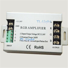 NEW 12-24V 30A RGB signal Amplifier For RGB SMD 5050 3528 LED Strip 12V-24V