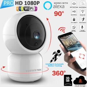 Wireless-WIFI-Camara-IP-1080P-2MP-camara-web-HD-IR-de-Seguridad-Bebe-Audio-Pan-Tilt-Cctv