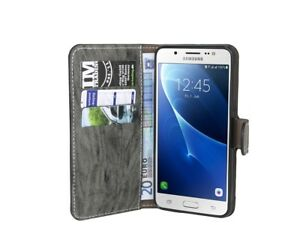 Book-Style-Custodia-per-Cellulare-Antracite-Samsung-Galaxy-J5-2016-J510F