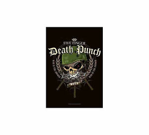 Five-Finger-Death-Punch-Warhead-Flagge-Posterflagge-HFL1078-FFDP-Poster