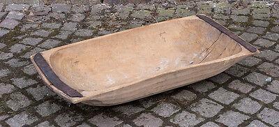 Mulle Trog Aus Holz Perfekte Gartendeko Schöner Alter Bauerntrog,teigtrog