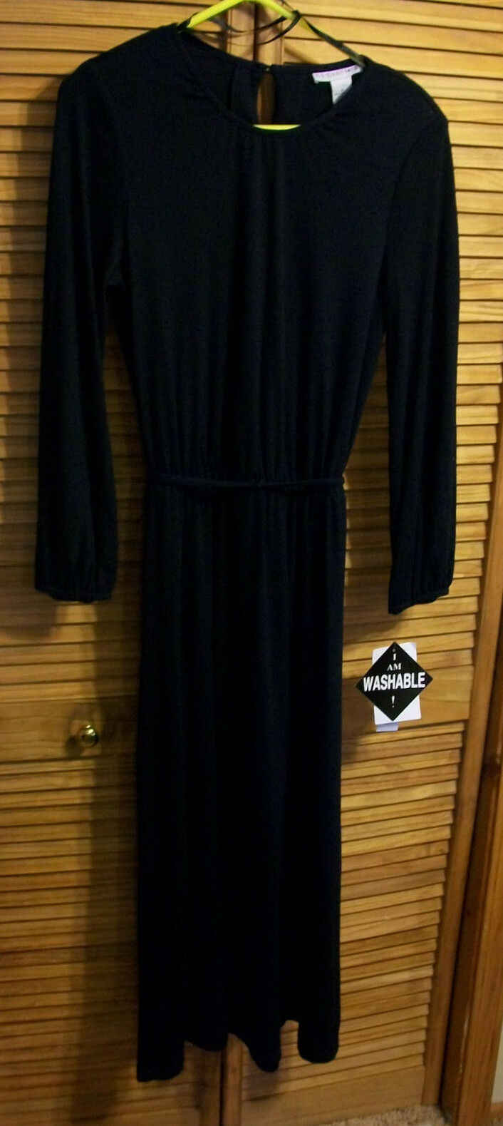 Vintage 1980s 90s Women's Madison Leigh Navy bluee A line Dress size 12 New  86