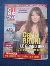 +CINE TELE REVUE 27/08 CARLA BRUNI MATT DALLAS FARRELL