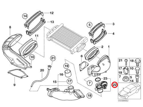 Mini Bypass//Apagado Válvula para Sobrealimentador R52 R53-js