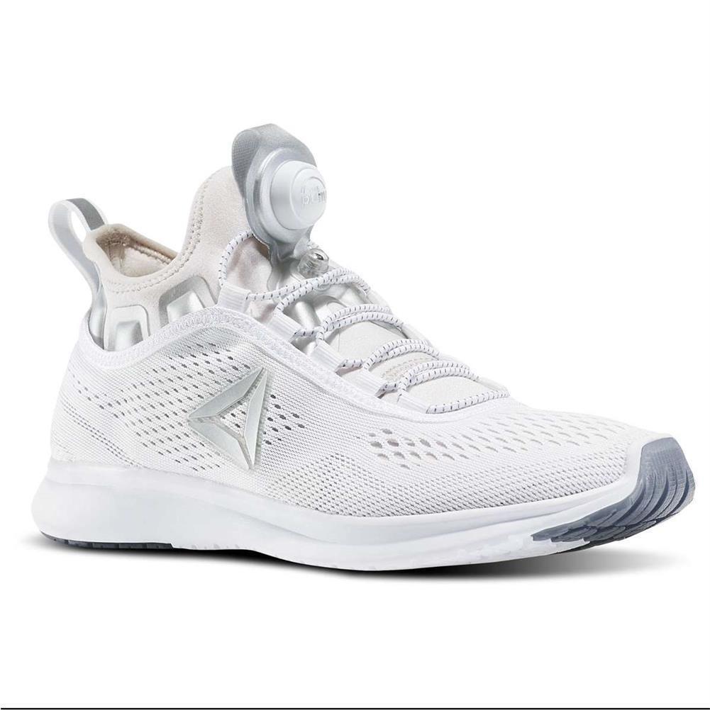 Reebok femmes  Pump Plus Tech Off  blanc  Sneakers Running  Chaussures