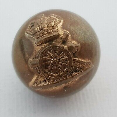 Victorian 12th Royal Lancers button 22mm W Dowler brass