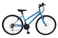 "Womens Arden trail 16"" frame 21 speed mountain bike 26"" wheel turquoise blue"