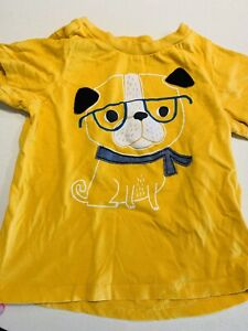Baby Boy Puppy Dog Lover Yellow Soft Shirt 18 Months Ebay