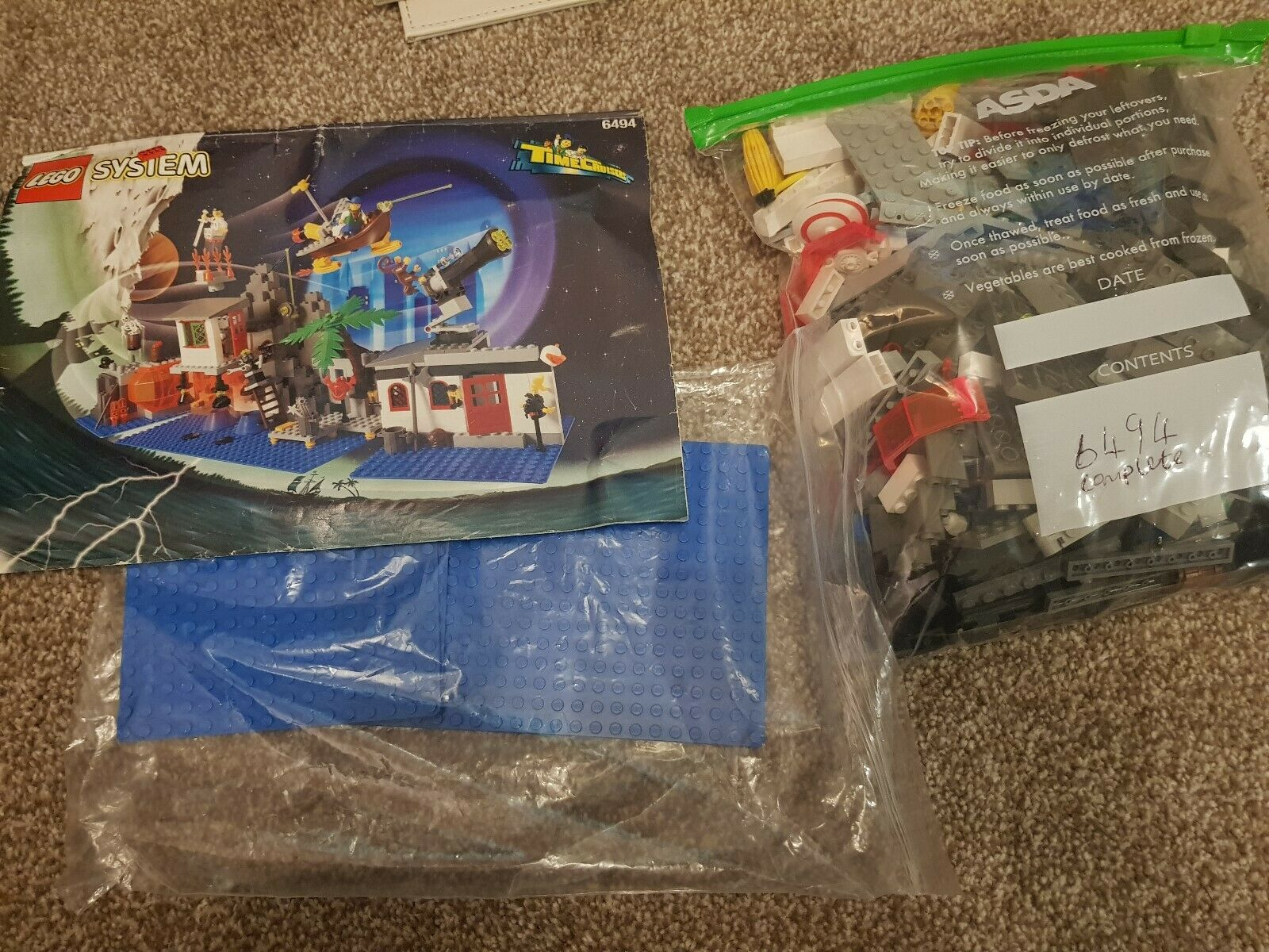 LEGO Time Cruisers 6494 Mystic Mountain Time Lab Complete Complete Complete System 1996 fefec5