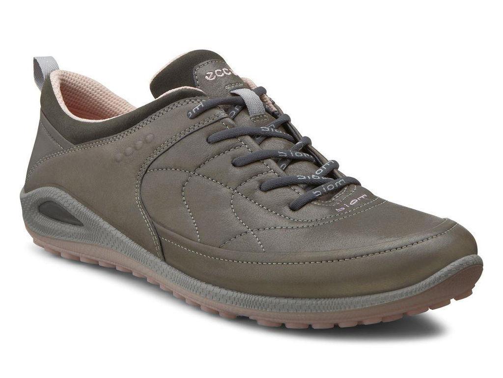 ECCO Women's Biom Grip Lite Plus Sneakers (Dark Shadow/Silver Pink) Size: 42