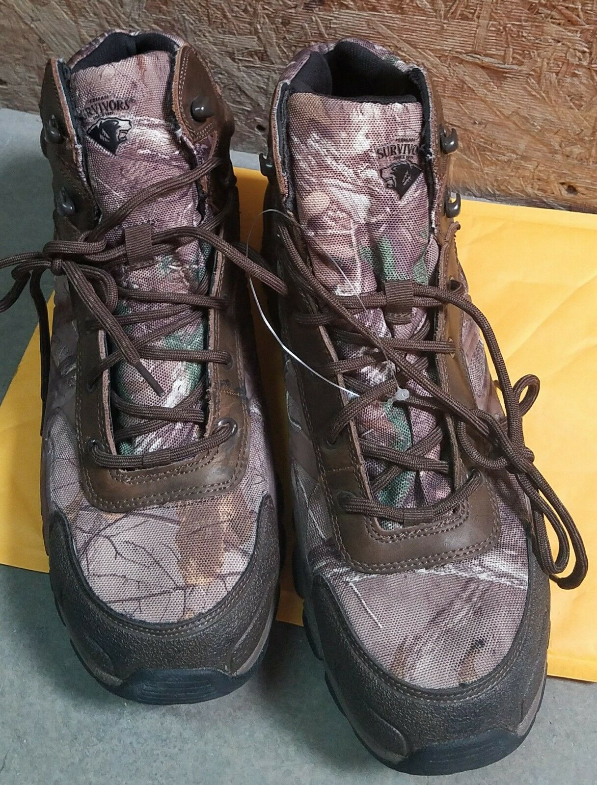 Men's HERMAN SURVIVORS WATERPROOF INSULATED 6  HUNTING BOOTS Size 13