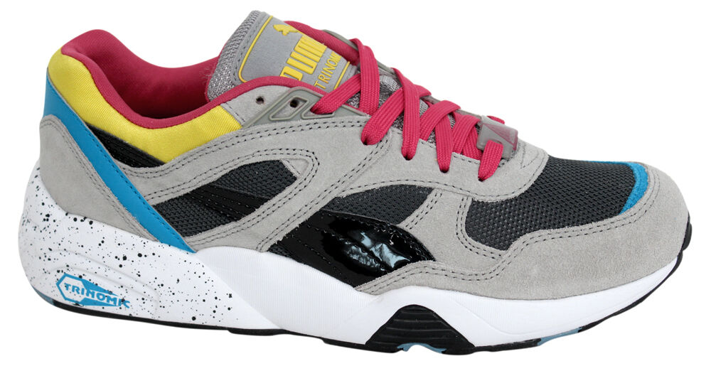 Puma Trinomic R698 Sports Uomo Trainers Running Shoes Shoes Shoes Grey 360030 04 U129 464fd8