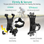 thumbnail 9 -  Cell Phone Silicone Mount Holder GPS Motorcycle MTB Bike Bicycle 360 Rotation