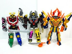 Power-Ranger-Megaforce-Gosei-Samurai-Megazord-Figures-Clawzord-DX-CLAW-ZORD-Lot