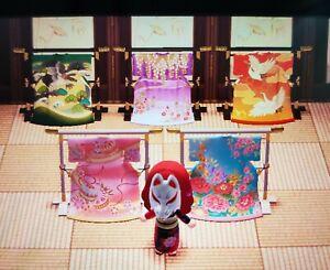 Elaborate-Kimono-Stand-Full-Set-5pcs-Animal-Crossing-New-Horizons