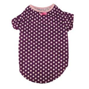 Dog-Cat-Pet-Puppy-T-Shirt-Clothes-Cotton-Costumes-Purple-Apparel-Summer-Vest