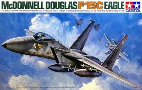 1:48 Tamiya McDonnell F-15C Eagle 61029