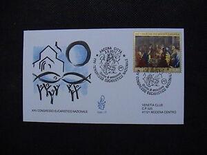 ITALIA-2011-BUSTA-PRIMO-GIORNO-FDC-VENETIA-CONGRESSO-EUCARISTICO