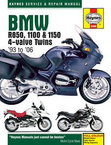 HAYNES-MANUAL-BMW-R850-1100-amp-1150-4-VALVE-TWINS