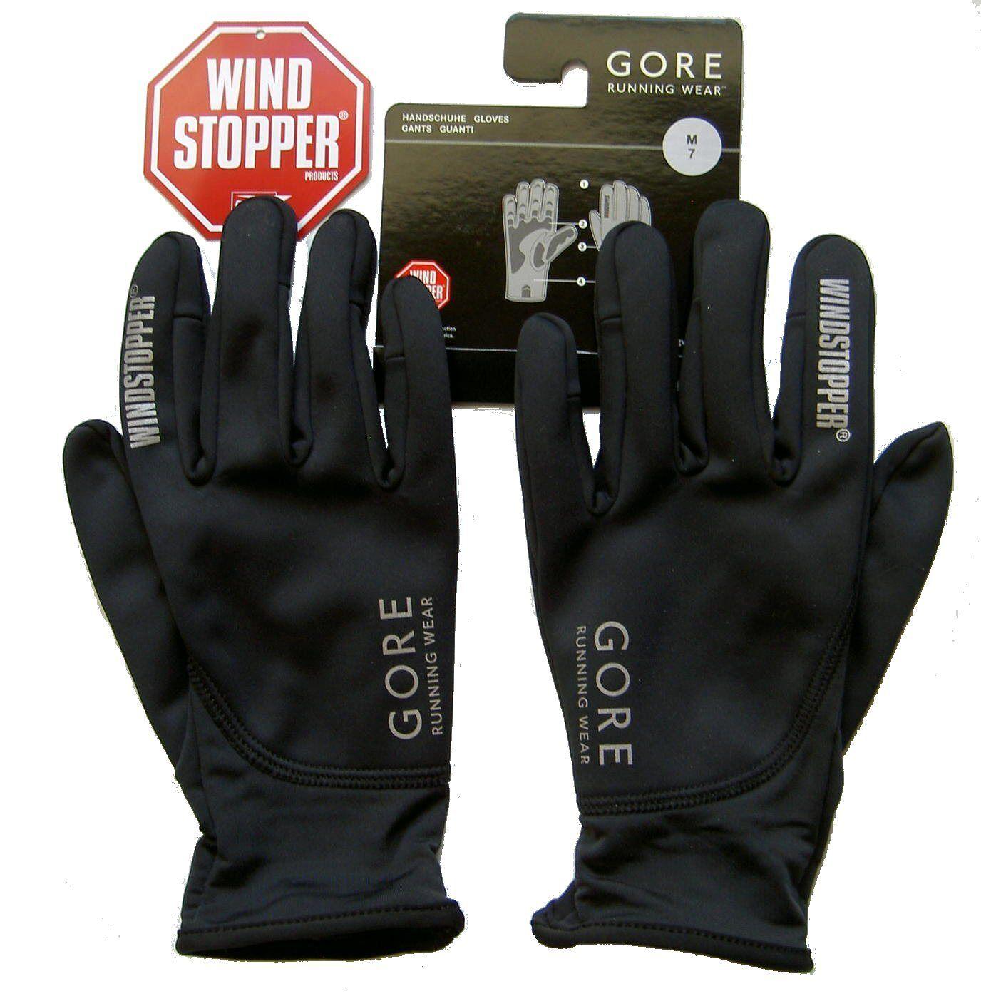 Gore Essential così Vento Stopper In Gloves esecuzione Gloves In Tg. 9/xl Corsa Guanti 9753e6